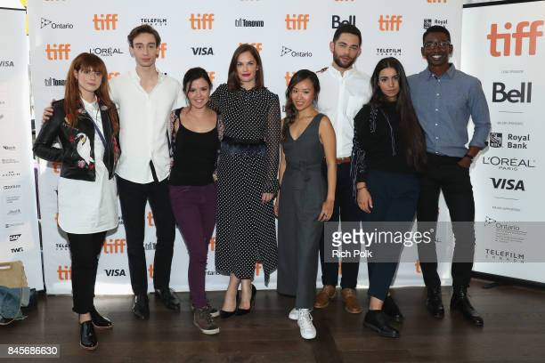 TIFF 17 Rising Stars Jessie Buckley Theodore Pellerin Mary Galloway actress Ruth Wilson Ellen Wong Vinnie Bennett Lina El Arabi and Mamoudou Athie...