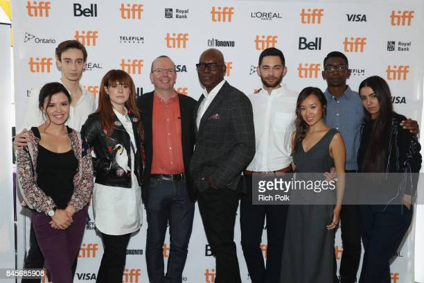TIFF 17 Rising Stars Mary Galloway Theodore Pellerin Jessie Buckley Founder and CEO of IMDb Col Needham TIFF Artistic Director Cameron Bailey Vinnie...