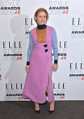 Róisín Murphy poses in the winners room at The Elle Style Awards 2016 on February 23 2016 in London England