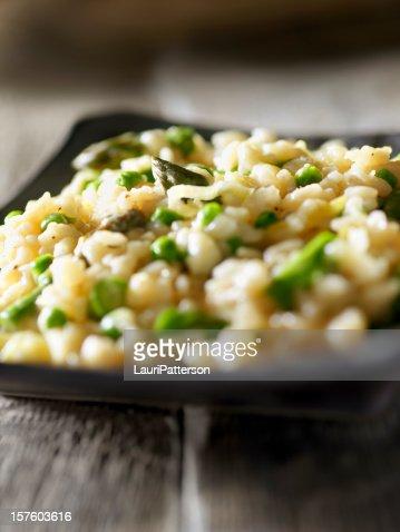 Risotto Primavera with Asparagus