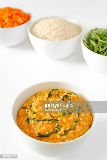 Risotto with Pumpkin and Arugula