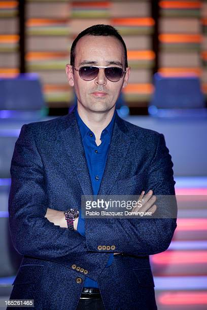 Risto Mejide attends a photocall for new television programme 'Money Time' at Picaso Estudios on April 2 2013 in Madrid Spain