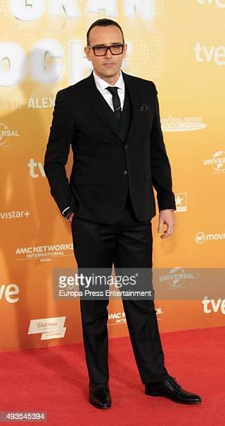 Risto Mejide attends 'Mi Gran Noche' premiere at Kinepolis cinema on October 20 2015 in Madrid Spain
