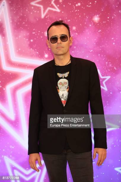 Risto Mejide attends the 'Got Talent' photocall at Coliseum theatre on July 12 2017 in Madrid Spain