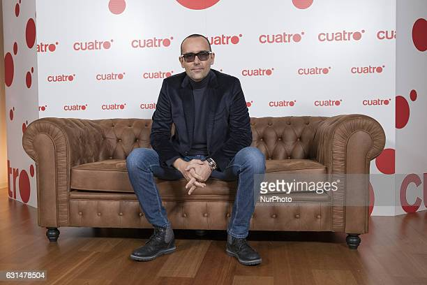 Risto Mejide attends the presentation of the CHESTER IN LOVE TV program in Madrid Spain on January 11 2017
