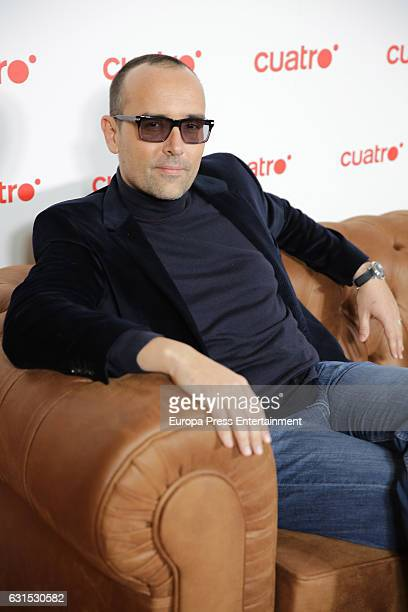 Risto Mejide attends the presentation of the 'Chester in love' Tv program on January 11 2017 in Madrid Spain