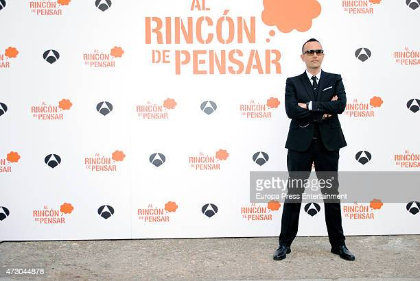 Risto Mejide presents the Tv programme 'Al Rincon de Pensar' for Antena 3 channel on May 11 2015 in Madrid Spain