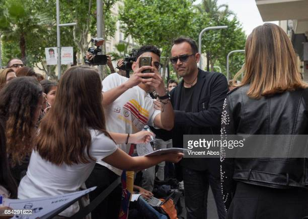 Risto Mejide seen arriving at the new Sarkany Boutique opening on May 17 2017 in Barcelona Spain
