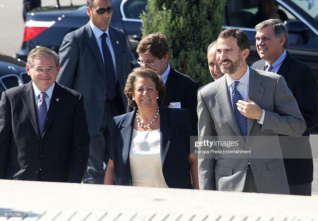 Crownprince Felipe At XIV Annual Spain-USA Forum