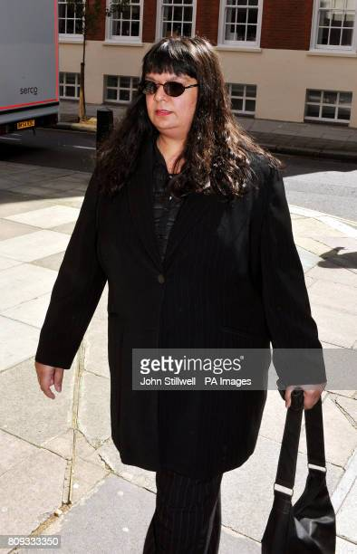 Rita Cleary the mother of British teenager Ryan Cleary who is accused of carrying out a hacking attack against the website of the UK's Serious...