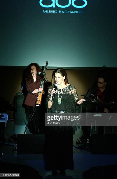 Rita Coolidge during Rita Coolidge LIVE DVD Shooting at Duo Music Exchange in Tokyo Japan