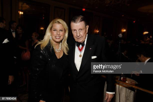 Rita Cosby and Ivan Obolensky attend Soldiers' Sailors' Marines' Coast Guard and Airmen's Club 14th Annual Military Ball at The Pierre Hotel on...