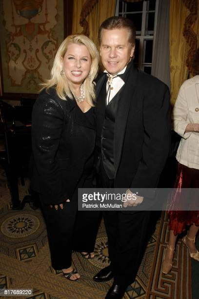 Rita Cosby and Tomaczek Bednarek attend Soldiers' Sailors' Marines' Coast Guard and Airmen's Club 14th Annual Military Ball at The Pierre Hotel on...