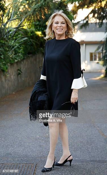 Rita Dalla Chiesa arrives at PREMIO TV 2015 Awards at RAI Dear Studios on May 25 2015 in Rome Italy
