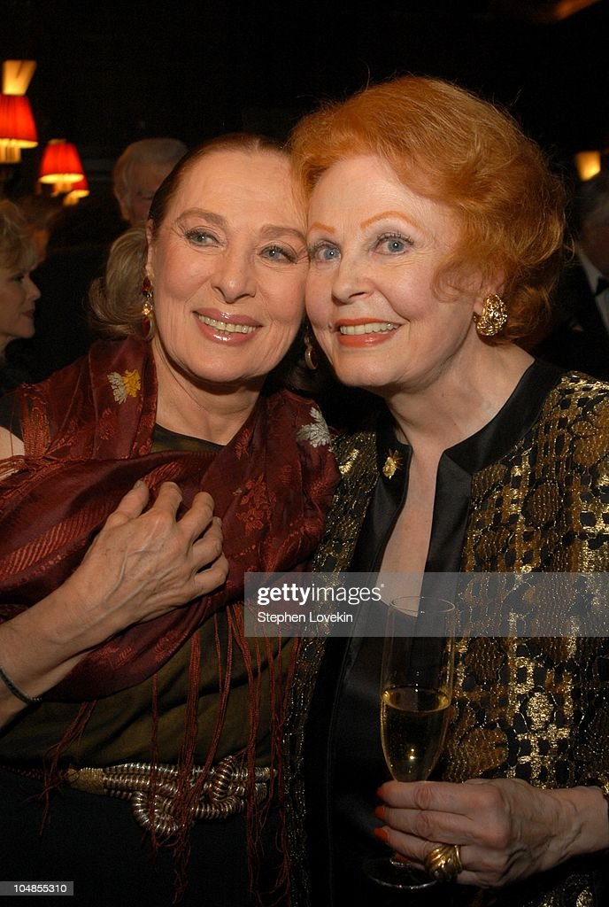 Rita Gam and Arlene Dahl during Official 2003 Academy of Motion Picture Arts and Sciences Oscar Night Party at Le Cirque 2000 at Le Cirque 2000 in New York, NY, United States.