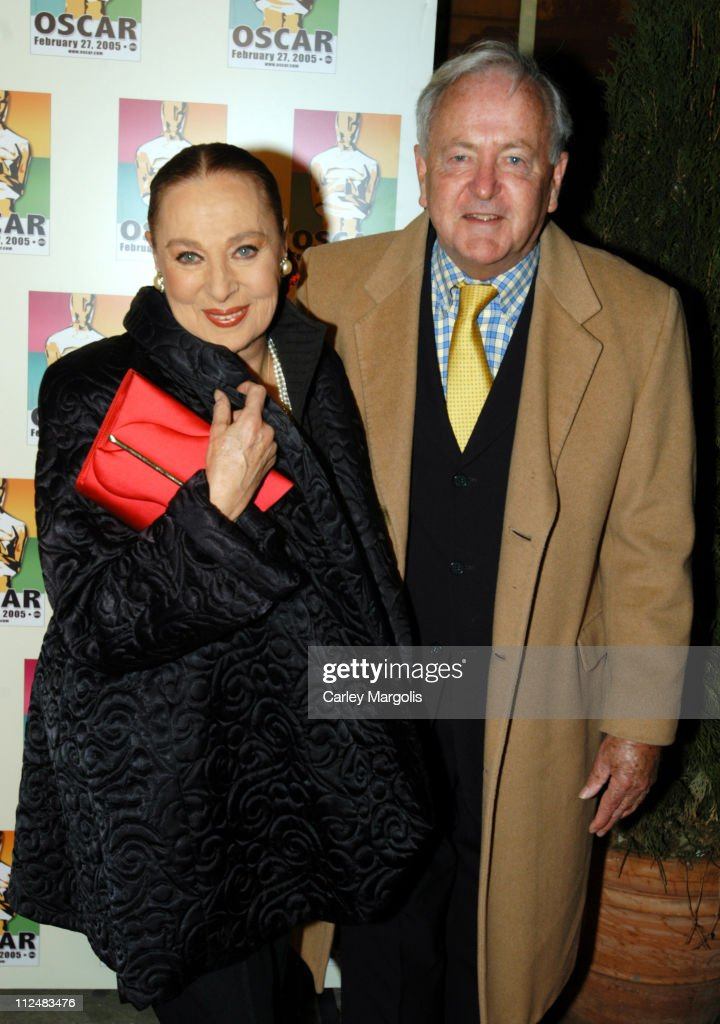 Rita Gam and Michael Frasier during Official 2005 Academy of Motion Picture Arts & Sciences Oscar Night Party at Gabriel's at Gabriel's Restaurant and Bar in New York City, New York, United States.
