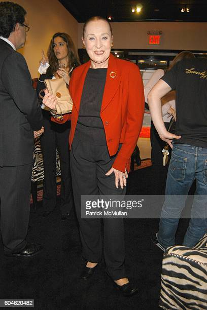 Rita Gam attends JOAN JEDELL Publisher of THE HAMPTON SHEET hosts the opening of BEVERLY FELDMAN's footwear boutique at Beverly Feldman Store on June...