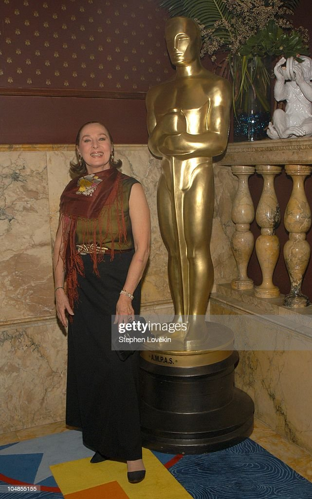 Rita Gam during Official 2003 Academy of Motion Picture Arts and Sciences Oscar Night Party at Le Cirque 2000 at Le Cirque 2000 in New York, NY, United States.