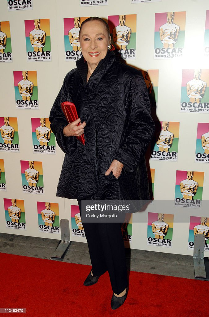 Rita Gam during Official 2005 Academy of Motion Picture Arts & Sciences Oscar Night Party at Gabriel's at Gabriel's Restaurant and Bar in New York City, New York, United States.