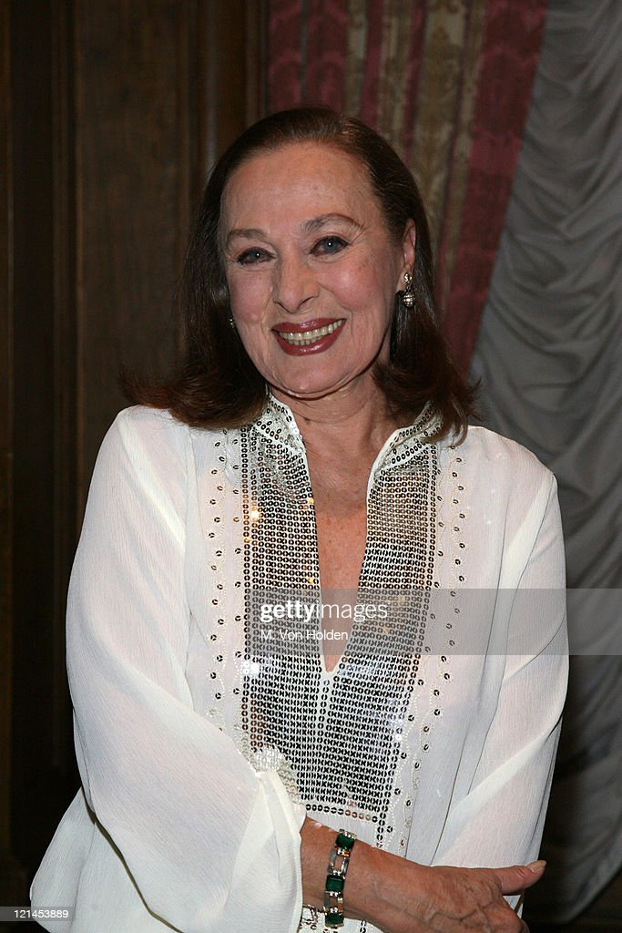 Rita Gam during The 78th Annual Academy Awards Official New York Party at St. Regis Hotel in New York City, New York, United States.