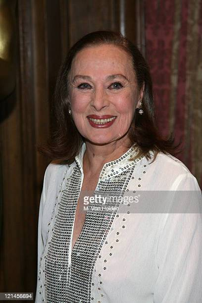 Rita Gam during The 78th Annual Academy Awards Official New York Party at St Regis Hotel in New York City New York United States