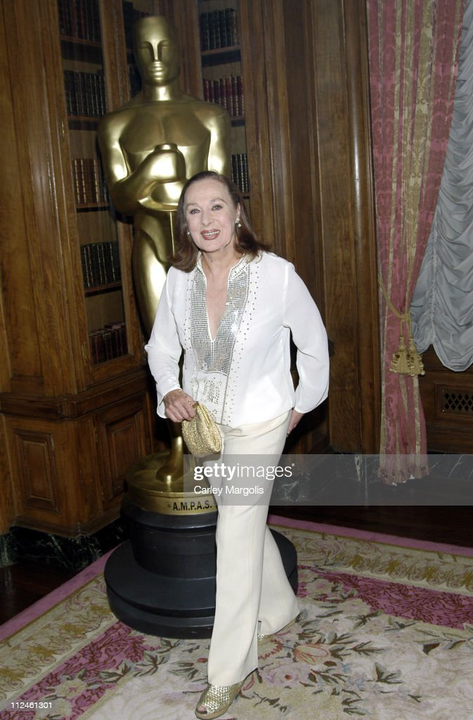 Rita Gam during The Academy of Motion Picture Arts and Sciences Official New York Oscar Night 2006 Celebration at St. Regis Hotel in New York City, New York, United States.