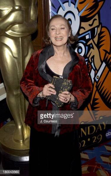 Rita Gam during The Academy of Motion Picture Arts Sciences 2004 Oscar Night Party at Le Cirque 2000 in New York City United States