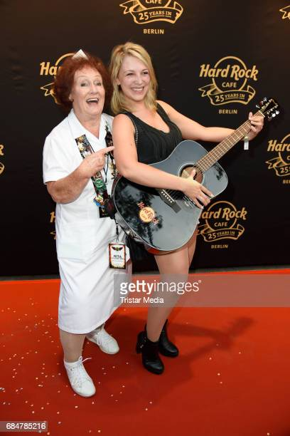 Rita Gilligan and Iris Mareike Steen attend the 25th anniversary celebration at Hard Rock Cafe Berlin on May 18 2017 in Berlin Germany