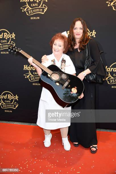 Rita Gilligan and Natalia Woerner attend the 25th anniversary celebration at Hard Rock Cafe Berlin on May 18 2017 in Berlin Germany