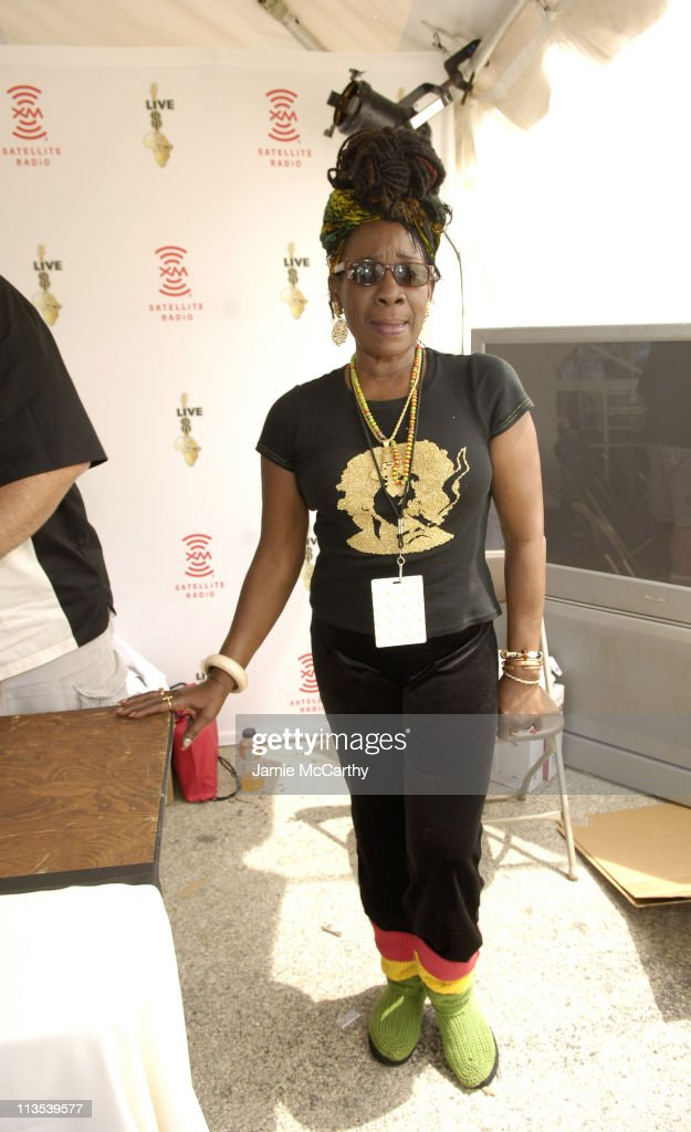 <a gi-track='captionPersonalityLinkClicked' href=/galleries/search?phrase=Rita+Marley&family=editorial&specificpeople=745253 ng-click='$event.stopPropagation()'>Rita Marley</a> during LIVE 8 - Philadelphia - XM Satellite Radio at Philadelphia Museum of Art in Philadelphia, Pennsylvania, United States.