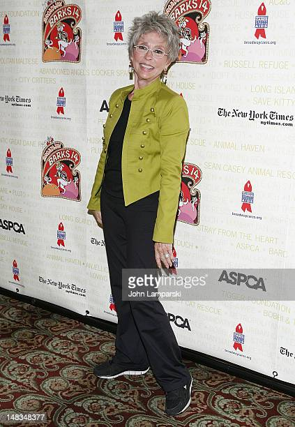 Rita Moreno attends Broadway Barks 14 at the Shubert Alley on July 14 2012 in New York City