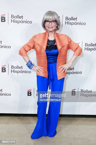 Rita Moreno attends the Ballet Hispanico Celebrates TrailBlazing Latina Leaders Rita Moreno and Nina Vaca at 2017 Carnaval Gala at The Plaza Hotel on...