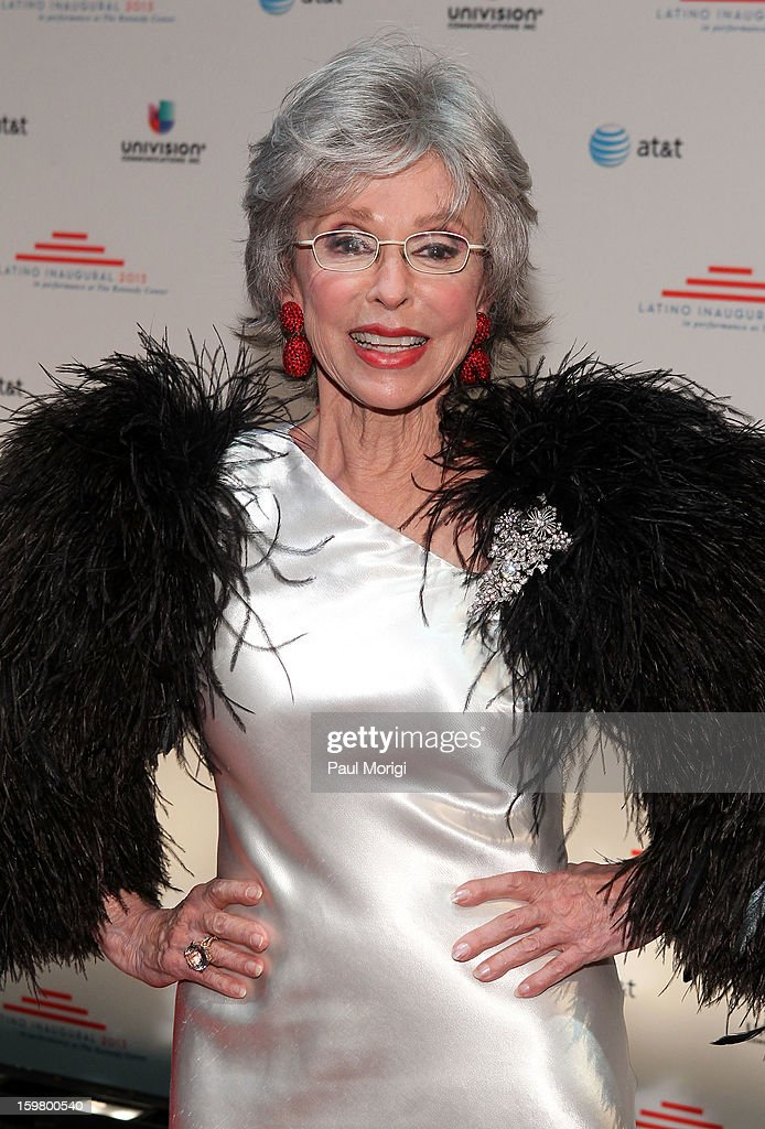 Rita Moreno attends the Latino Inaugural 2013 at The Kennedy Center on January 20, 2013 in Washington, DC.