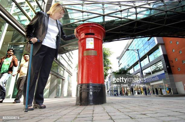 Rita O'Connell who was injured in the IRA Manchester bomb blast ten years ago today is back in Manchester next to the post box that has become an...