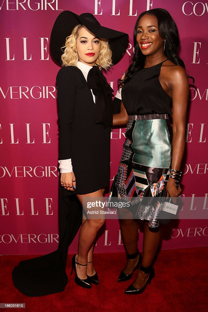<a gi-track='captionPersonalityLinkClicked' href=/galleries/search?phrase=Rita+Ora&family=editorial&specificpeople=5686485 ng-click='$event.stopPropagation()'>Rita Ora</a> and DJ Kiss attend the 4th Annual ELLE Women in Music Celebration presented by Covergirl at The Edison Ballroom on April 10, 2013 in New York City.