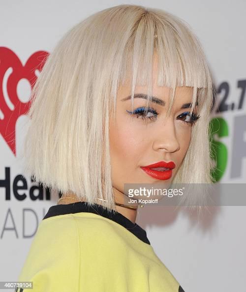 Rita Ora arrives at KIIS FM's Jingle Ball 2014 at Staples Center on December 5 2014 in Los Angeles California