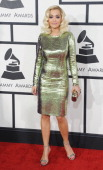 Rita Ora arrives at the 56th GRAMMY Awards at Staples Center on January 26 2014 in Los Angeles California