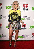 Rita Ora arrives at the KIIS FM's Jingle Ball 2014 at Staples Center on December 5 2014 in Los Angeles California
