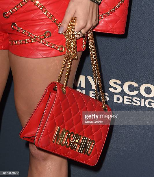 Rita Ora arrives at the Premiere Of The Vladar Company's 'Jeremy Scott The People's Designer' at TCL Chinese 6 Theatres on September 8 2015 in...