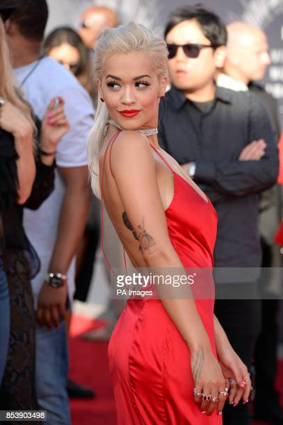 Rita Ora arriving at the MTV Video Music Awards 2014 at The Forum in Inglewood Los Angeles