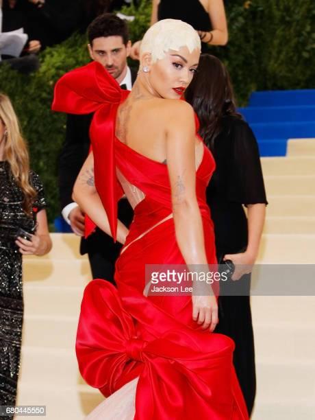 Rita Ora at 'Rei Kawakubo/Comme des GarçonsArt of the InBetween' Costume Institute Gala at Metropolitan Museum of Art on May 1 2017 in New York City