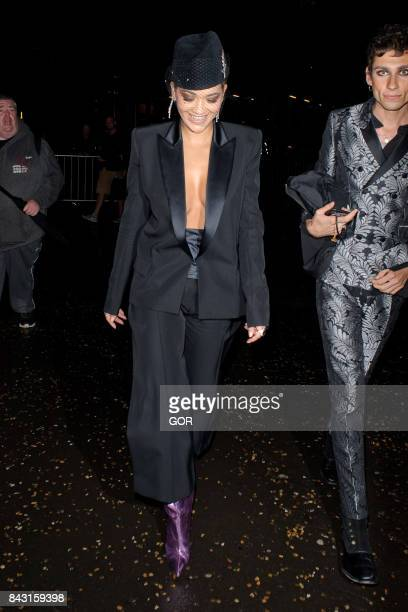 Rita Ora at the GQ Awards on September 5 2017 in London England
