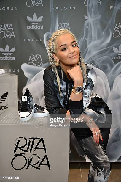 Rita Ora at the PacSun And Rita Ora Celebrate her new adidas Originals Collection With InStore Signing event at PacSun on May 9 2015 in Santa Monica...
