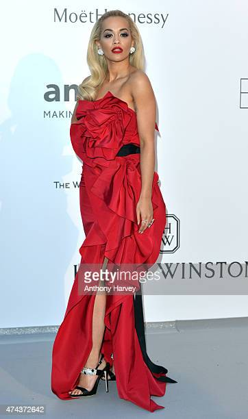 Rita Ora attend amfAR's 22nd Cinema Against AIDS Gala Presented By Bold Films And Harry Winston at Hotel du CapEdenRoc on May 21 2015 in Cap...