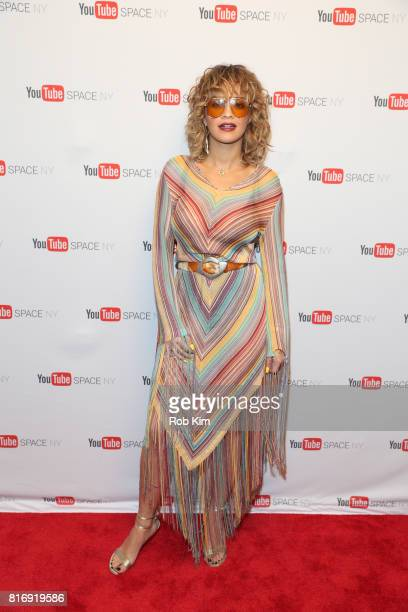 Rita Ora attends a YouTube Fan Event on July 17 2017 in New York City