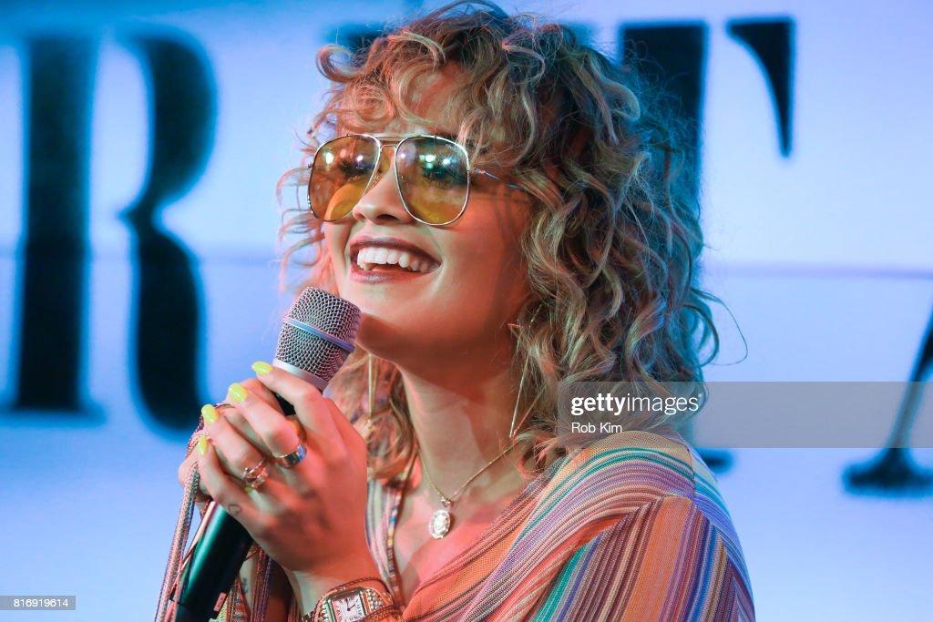 Rita Ora YouTube Fan Event