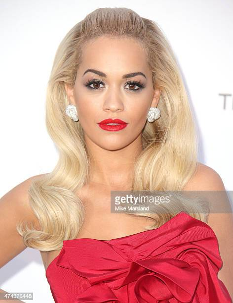 Rita Ora attends amfAR's 22nd Cinema Against AIDS Gala Presented By Bold Films And Harry Winston at Hotel du CapEdenRoc on May 21 2015 in Cap...