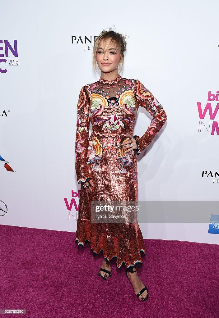 Rita Ora attends Billboard Women In Music 2016 Airing December 12th On Lifetime at Pier 36 on December 9, 2016 in New York City.