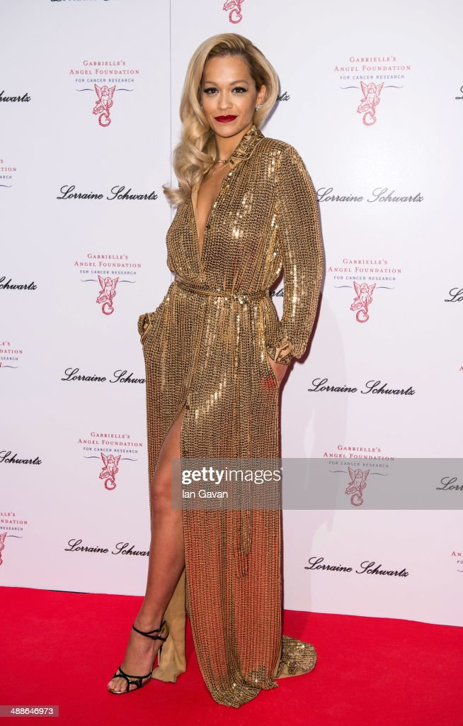<a gi-track='captionPersonalityLinkClicked' href=/galleries/search?phrase=Rita+Ora&family=editorial&specificpeople=5686485 ng-click='$event.stopPropagation()'>Rita Ora</a> attends Gabrielle's Gala at Old Billingsgate Market on May 7, 2014 in London, England. Gabrielle's Gala is an annual fundraiser in aid of Gabrielle's Angel Foundation for Cancer.