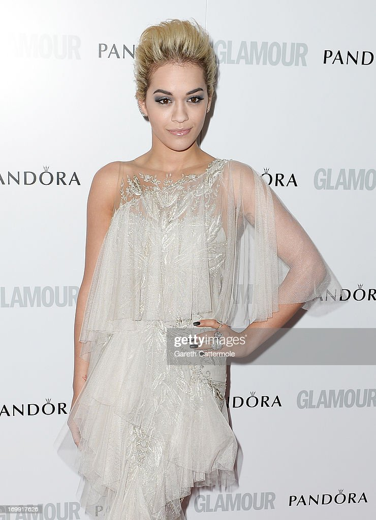 Rita Ora attends Glamour Women of the Year Awards 2013 at Berkeley Square Gardens on June 4, 2013 in London, England.